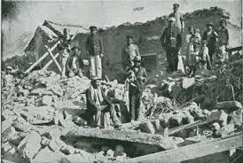 Terremoto de Vallenar de 1922 en imágenes: La gran trizadura que marcó la cara del valle del Huasco.