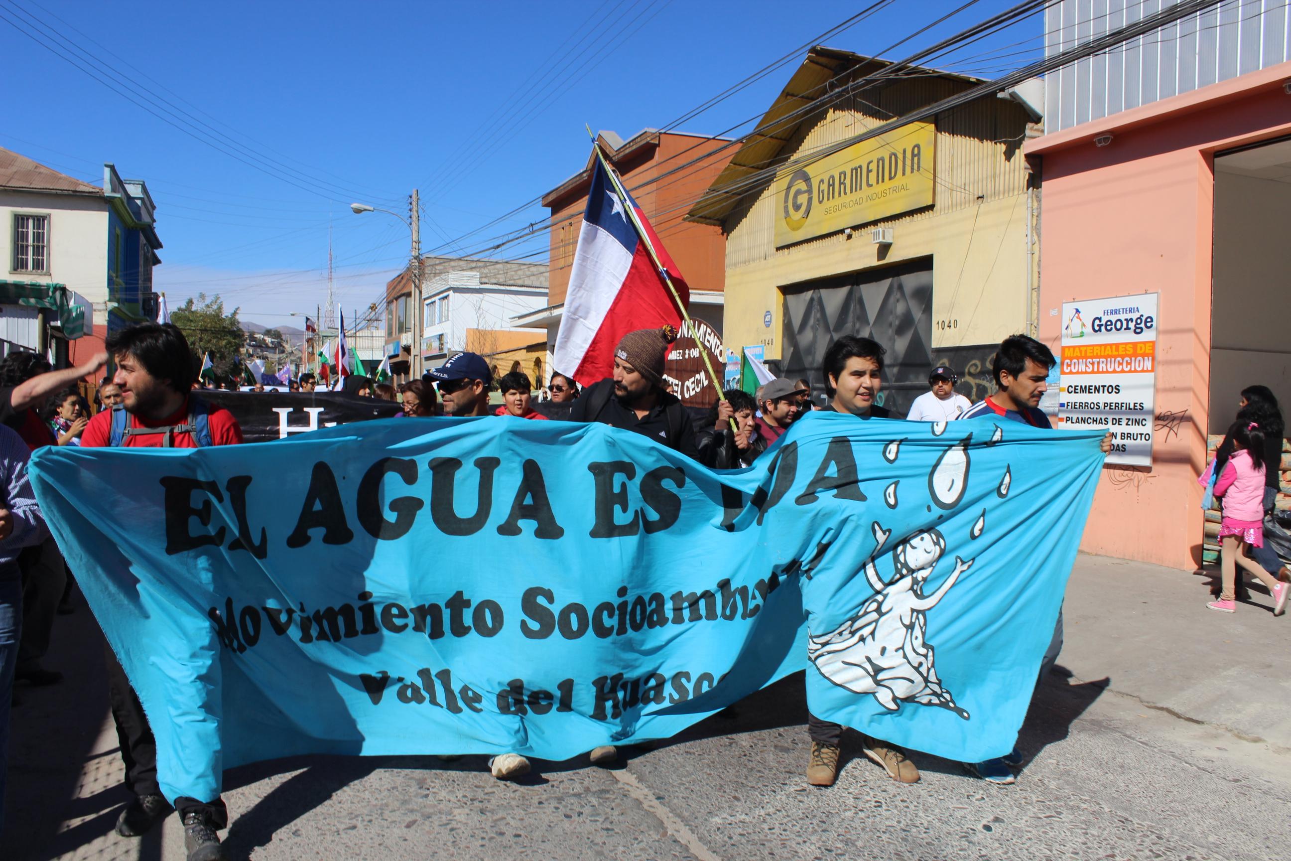 Marcha por la Vida y el Agua cumple 14 años en el valle del Huasco