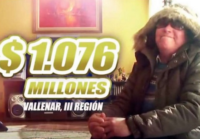 Pobladora que ganó millonario sorteo, continúa comprando Kino