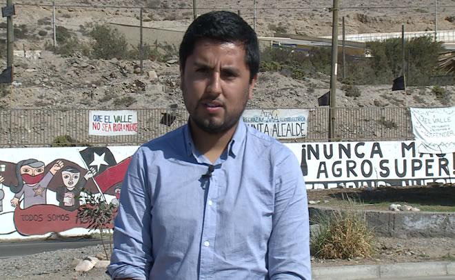 """Yahir Rojas, dirigente ambiental: """"Queremos un progreso y desarrollo real, de acuerdo a necesidades de la población"""""""