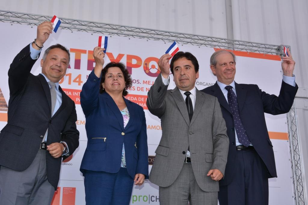 Ministra de Minería Inauguró ATEXPO 2014