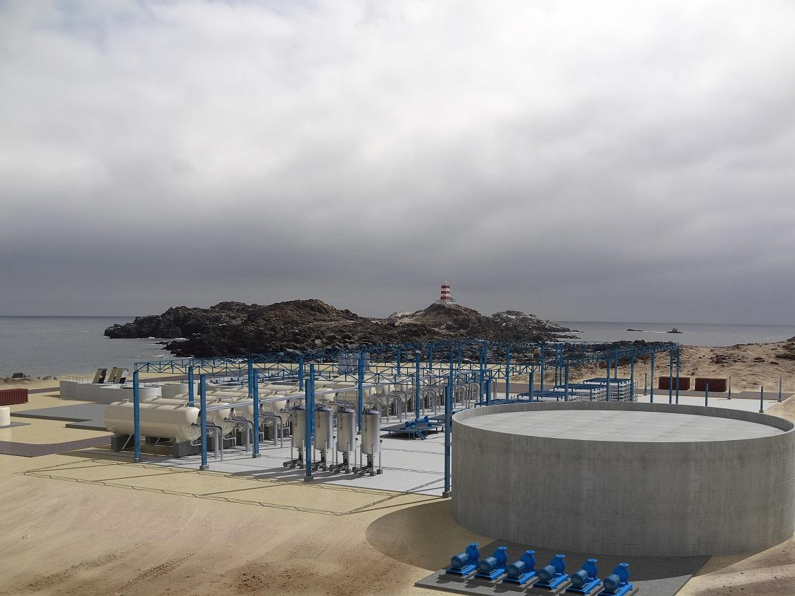Entregan estudio de impacto ambiental que posibilita la construcción de planta desaladora