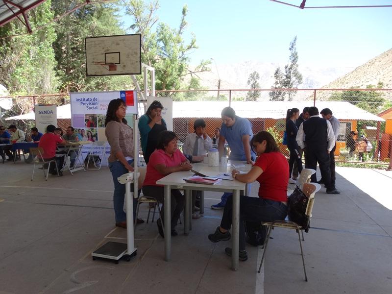 Hospital Provincial del Huasco participó de Gobierno en Terreno en Chollay