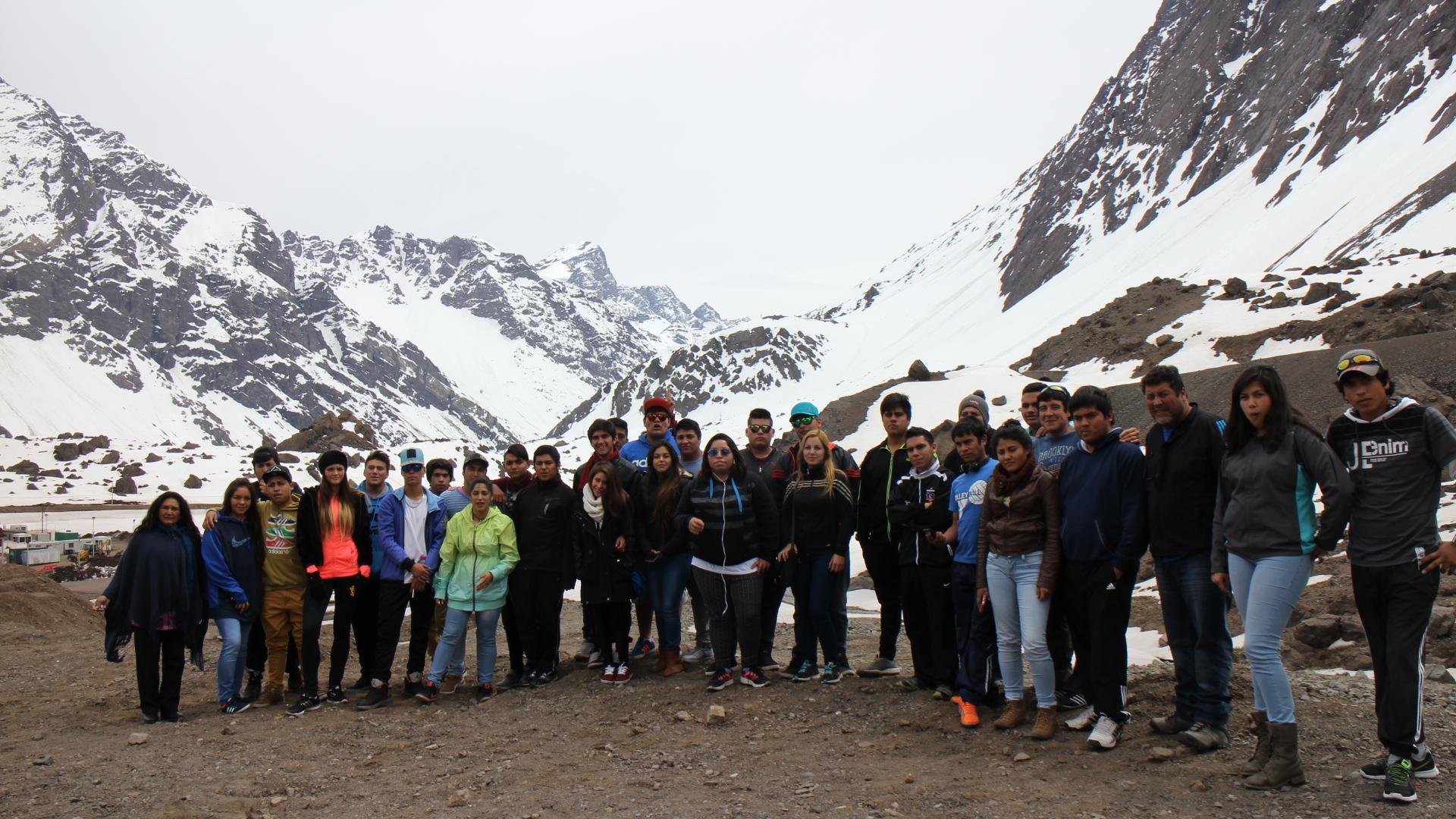Alumnos de Alto del carmen visitan Argentina