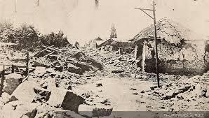 Hoy se cumplen 93 años del terremoto de 1922