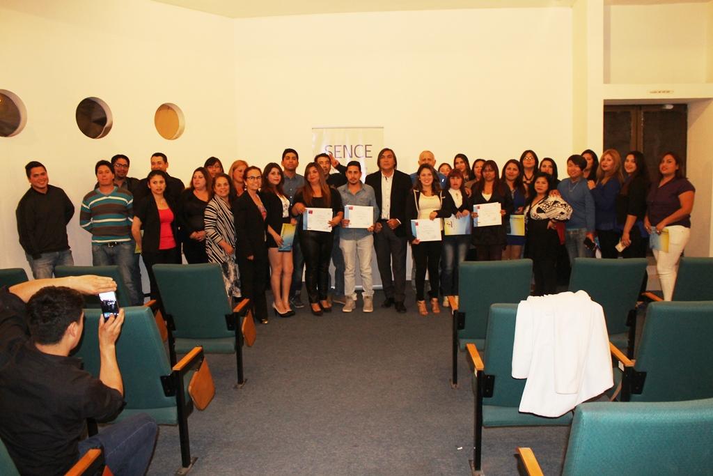 Beneficiarios +Capaz se certifican en la provincia del Huasco