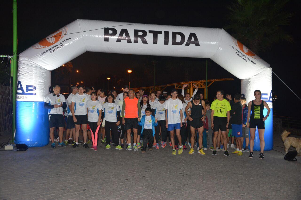 Hoy se realiza Running costero nocturno en Huasco