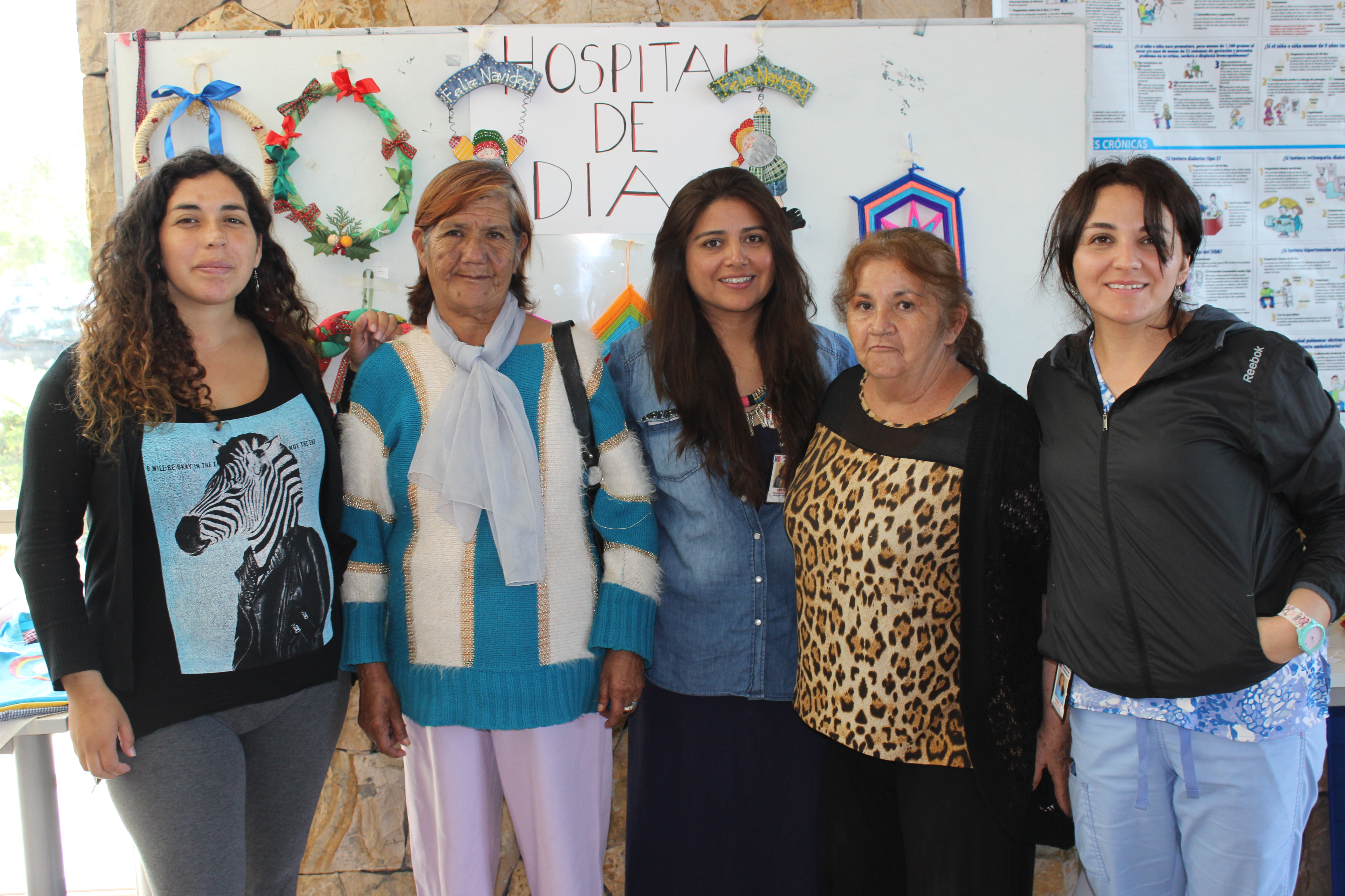 """Usuarios de """"Hospital de Día"""" muestran sus trabajos a la comunidad"""