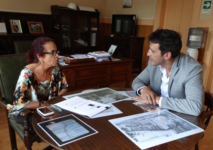 Gobernadora se reúne con nuevo director del HPH
