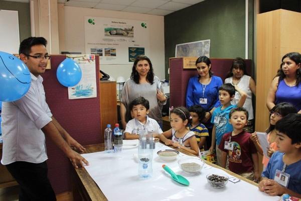 Seremi de Salud abrió  sus puertas a hijos de funcionarios en Copiapó y Vallenar
