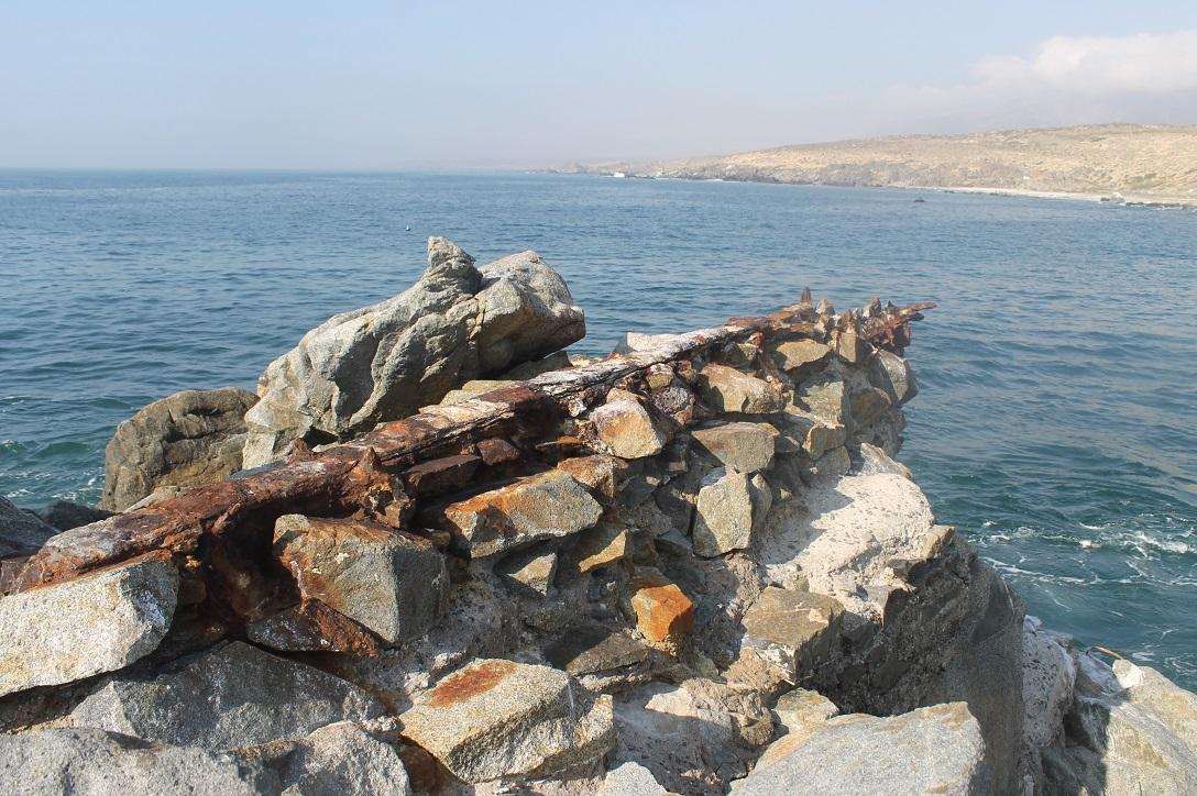 Antiguo puerto de Peña Blanca revela sus secretos al visitante