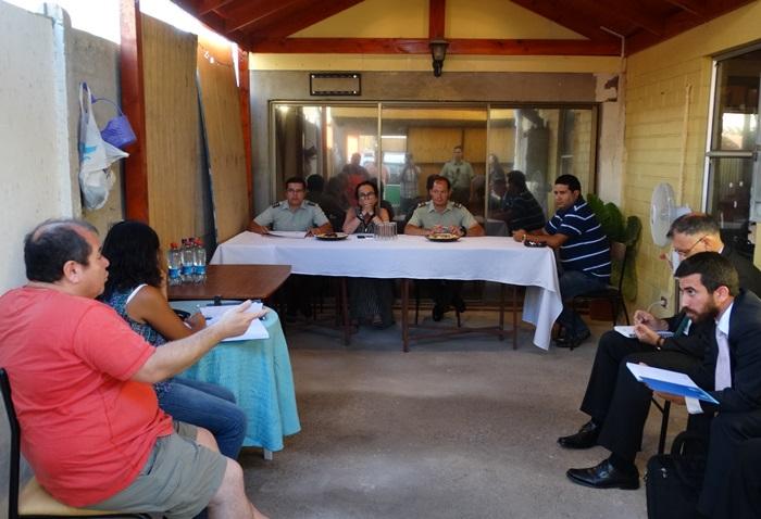 Acuerdan trabajo en conjunto con la comunidad para problemáticas de seguridad pública en Vallenar