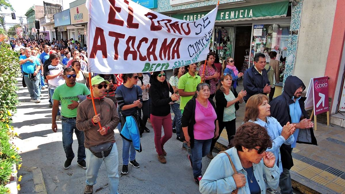 Dirigentes ANEF Atacama se reúnen con ministro de Hacienda