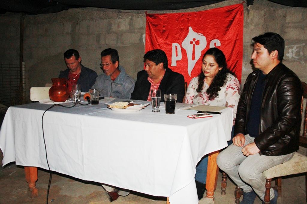 """Socialistas que apoyan a Cristián Tapia: """"La militancia de nuestro partido debe asumir una disciplina partidaria"""""""