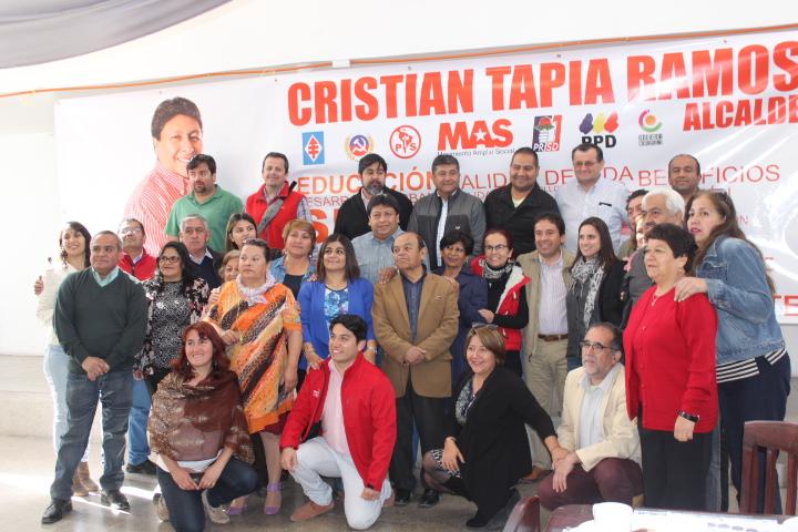 Presentan a candidatos a concejales de la Nueva Mayoría en Vallenar (Fotos)