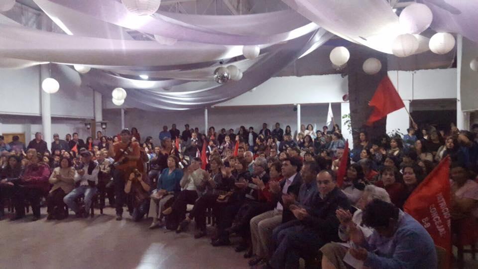 Con acto ciudadano Armando Flores dio inicio a su campaña al municipio en Vallenar