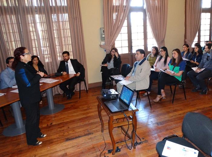 Jornada de capacitación analiza situación de víctimas de delitos violentos en establecimientos educacionales de la  provincia de Huasco
