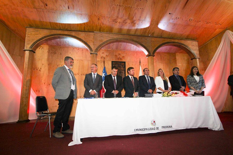 Freirina presenta su nuevo Concejo Municipal