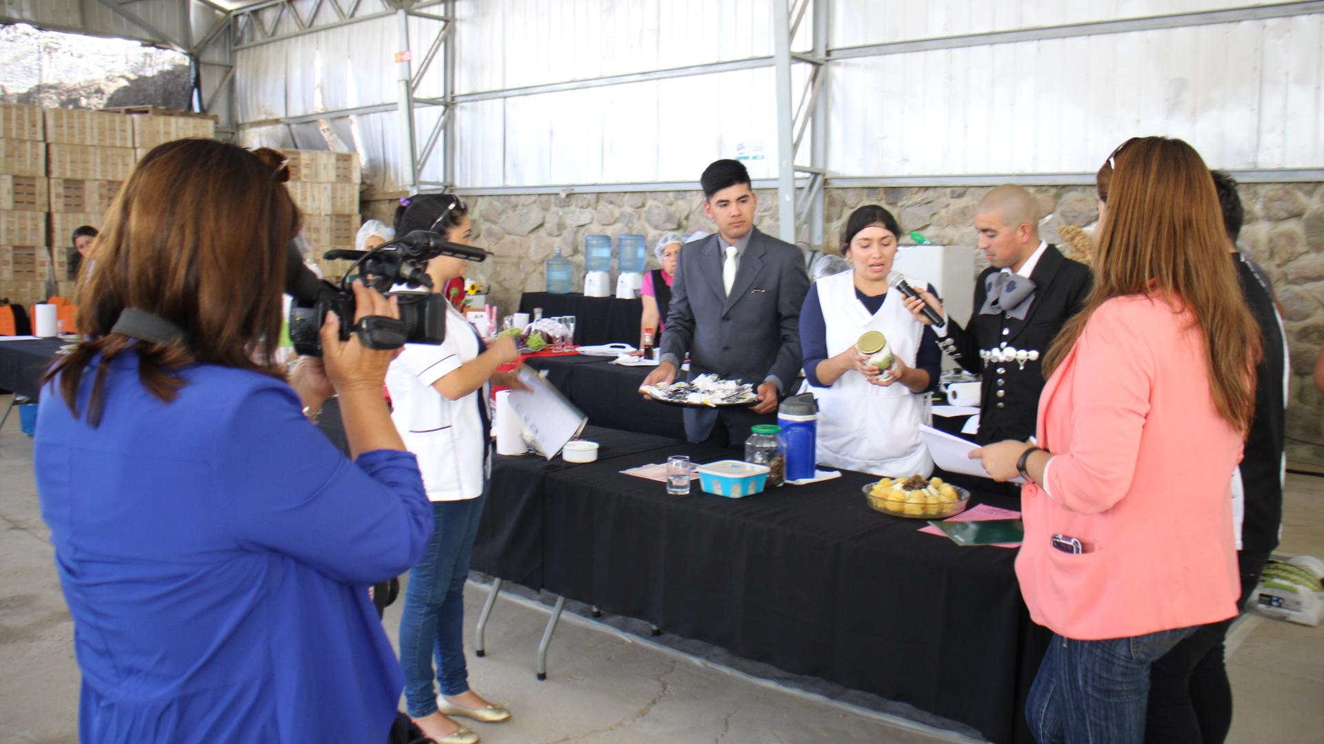 Chiguinto organizó concurso gastronómico con figura de la TV
