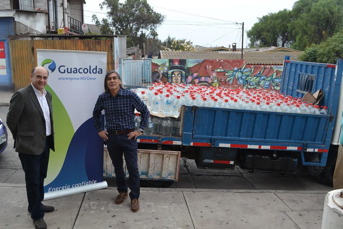 Guacolda entrega ayuda a vecinos damnificados por aluvión en Chollay