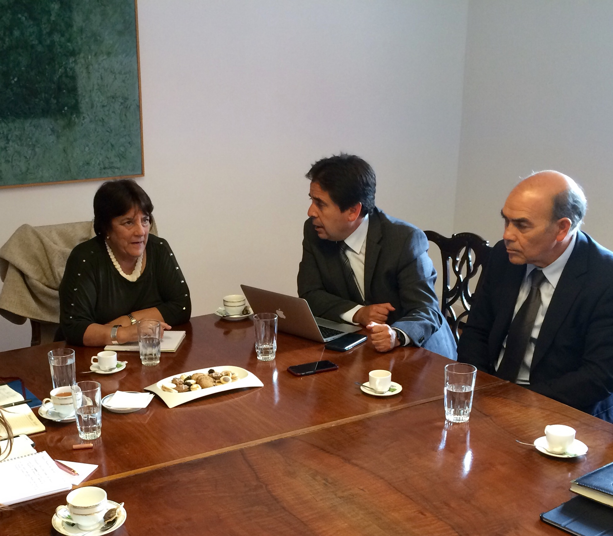 Autoridades regionales recibieron apoyo de ministra de Educación para concretan la carrera de Medicina en la región
