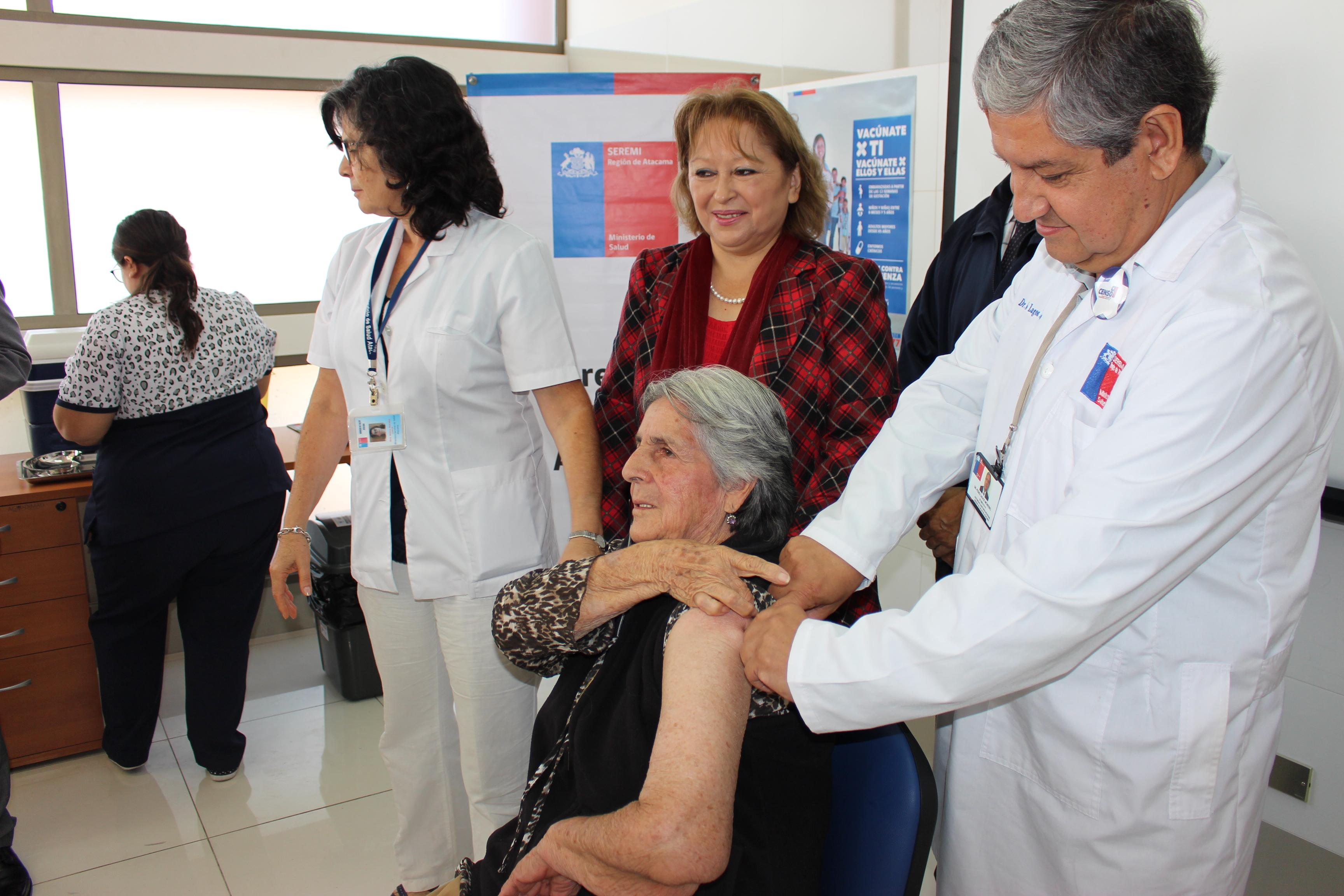 Vallenar y Freirina, las comunas con más alto porcentaje en la provincia de vacunación contra influenza