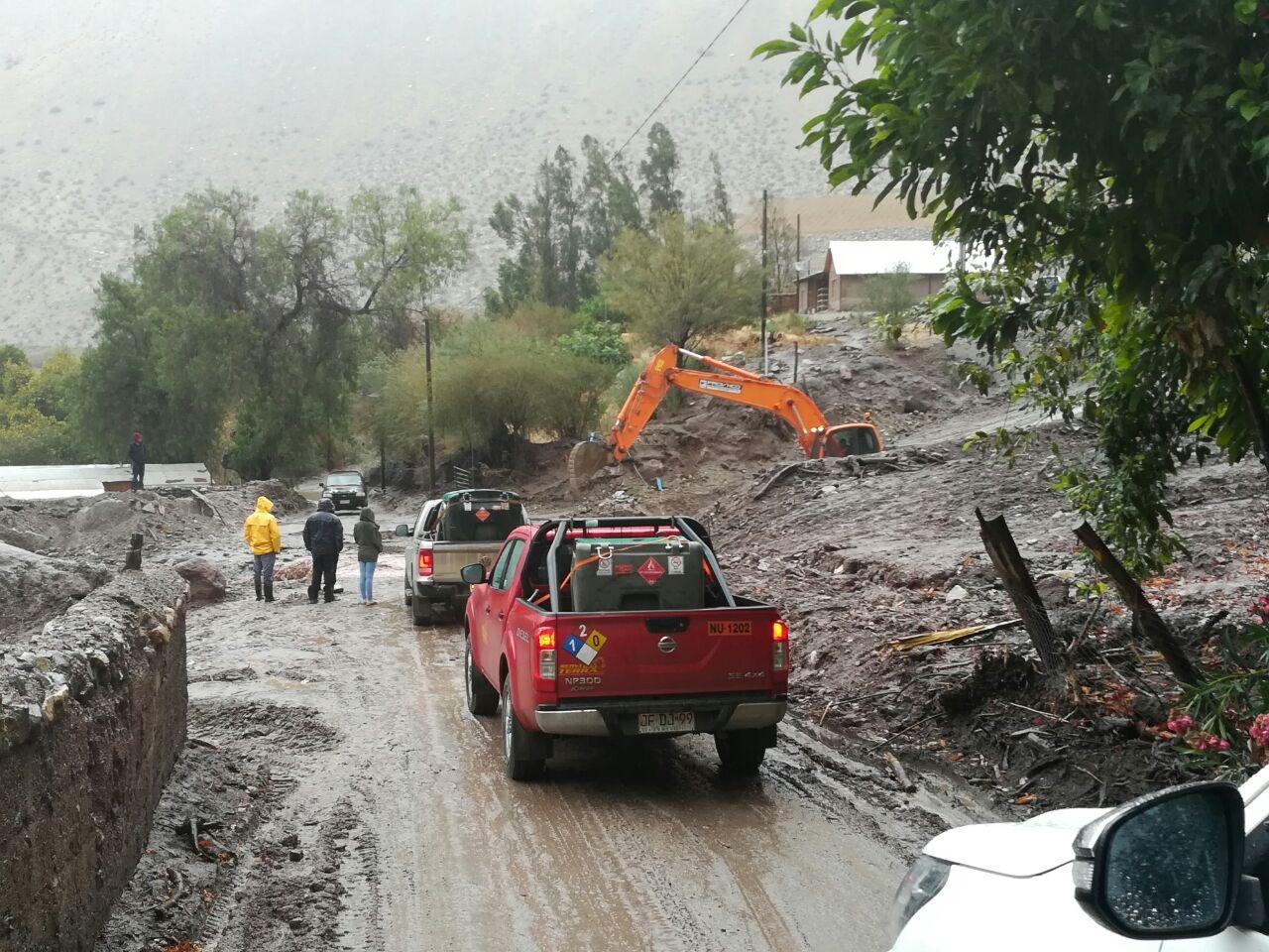 Se restablece conexión vehicular con sector de El Parral