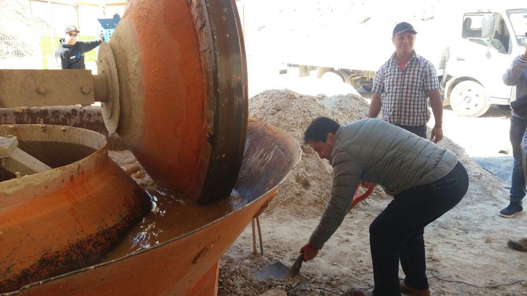 Pequeños mineros de San Félix y El Corral podrán mejorar sus procesos con planta de minerales