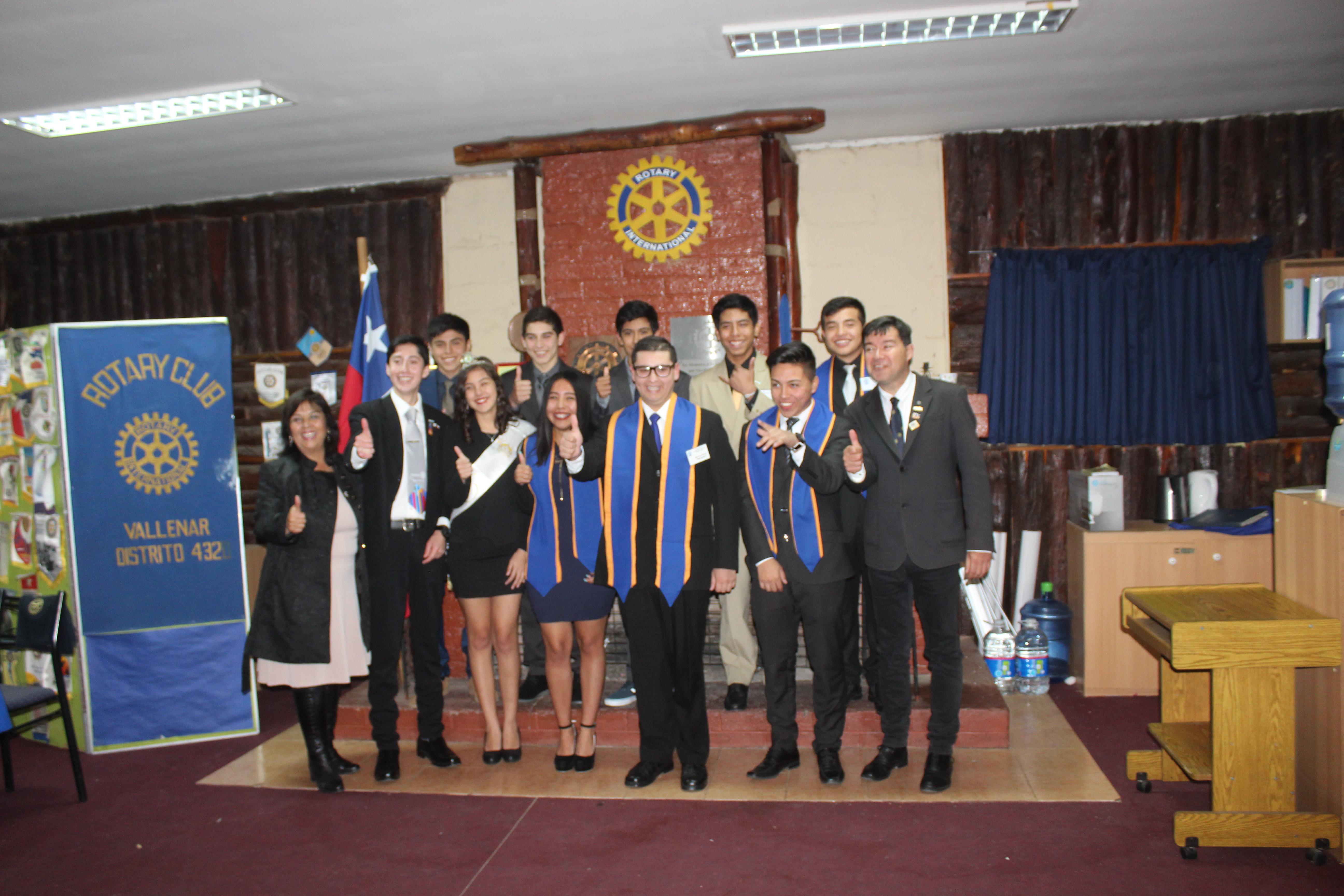 Constituyen agrupación de jóvenes del Rotary Club Vallenar