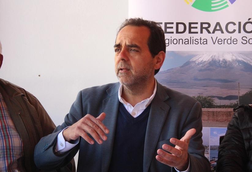 """Mulet candidato: """"Una de las improntas de la propuesta regionalista es la defensa de local, de lo nuestro"""""""