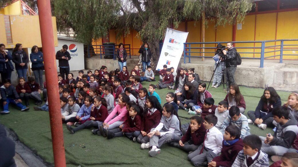 Sernapesca ofrece charla sobre los oceános a niños de Huasco