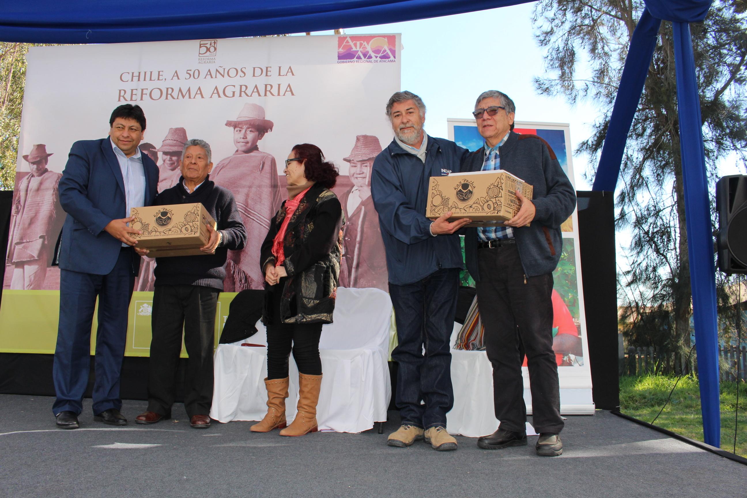 Campesinos de Atacama celebraron su día en Vallenar
