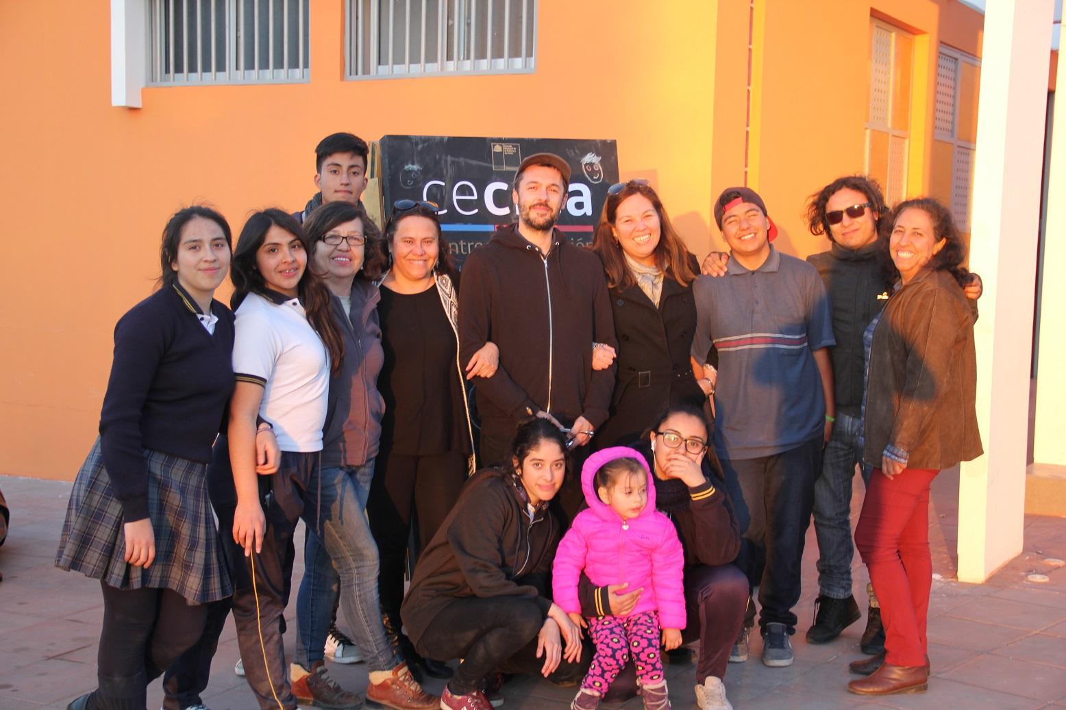 Celebran exitoso fin de residencia artística Cecrea