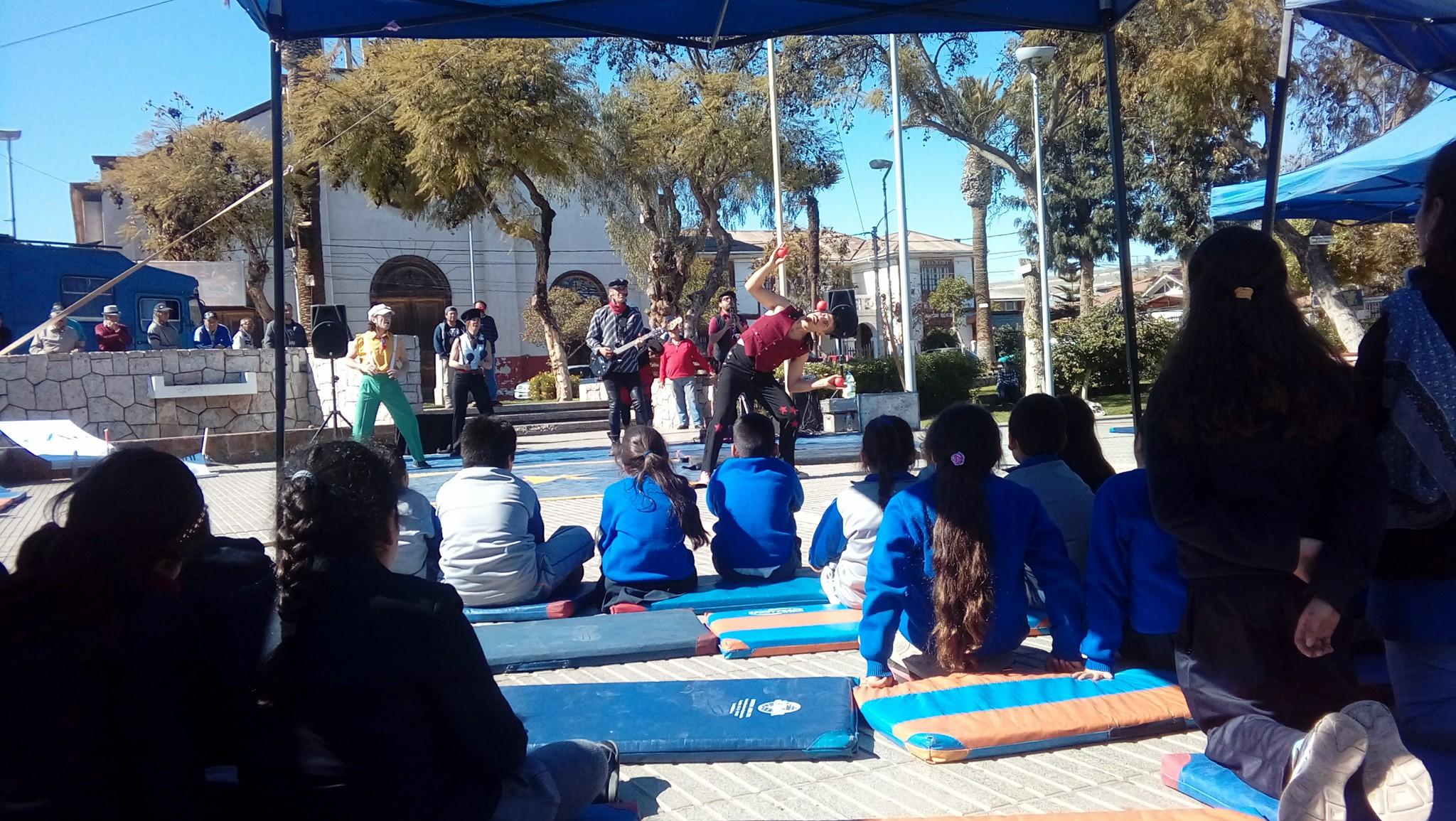 Estudiantes de Vallenar participaron en campaña  educativa de Seguridad Ferroviaria
