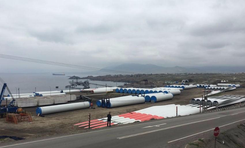 Comienza la construcción del Parque eólico Sarco en Freirina