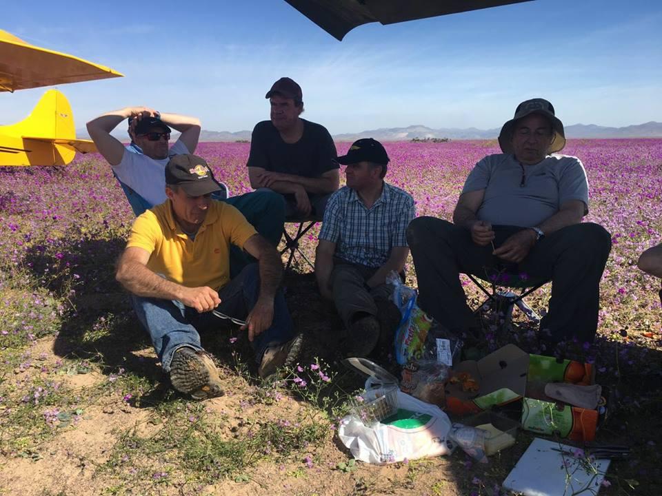 Eugenio Ponce Lerou integraba comitiva de aviadores que aterrizaron en el desierto florido