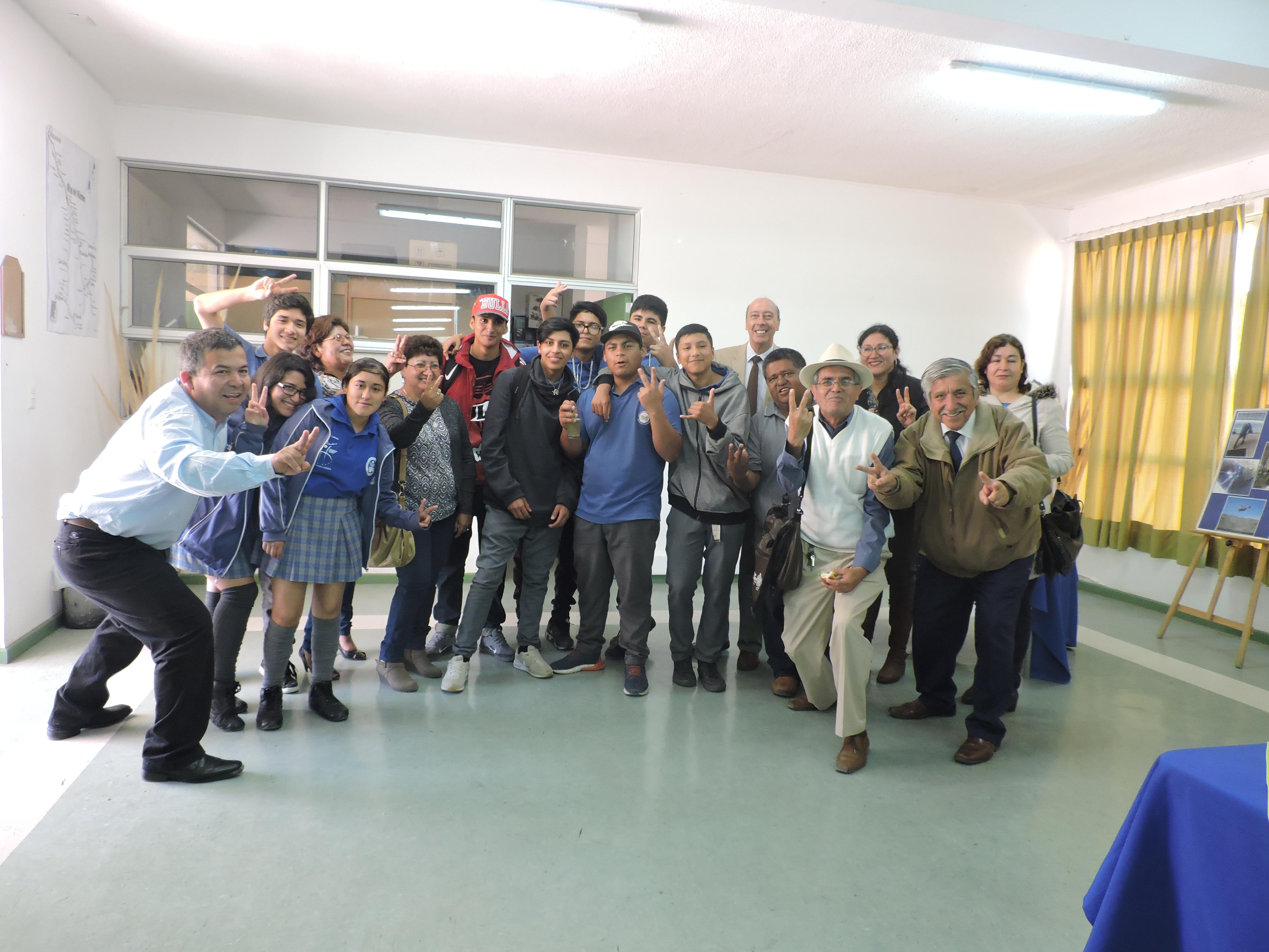Firman convenio entre liceo Alto del Carmen y club de Huasos Valle del Tránsito