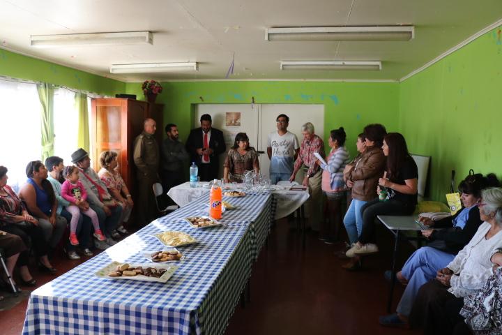 Vecinos de Polvorera Antigua exponen demandas en materia de seguridad pública