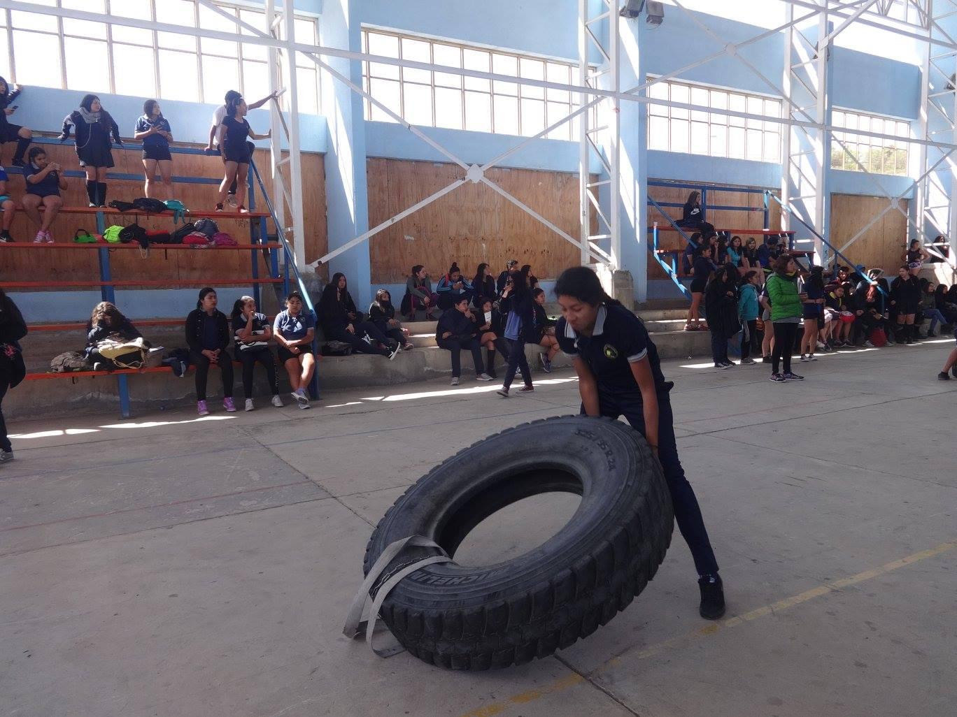 Liceo Politécnico vivió 5ta versión de la Competencia Espartana
