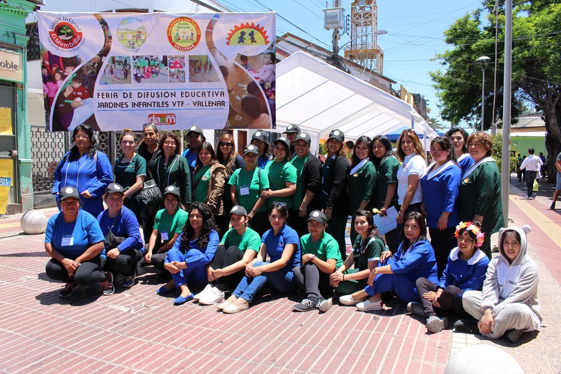Jardines Infantiles VTF se abren a la comunidad vallenarina
