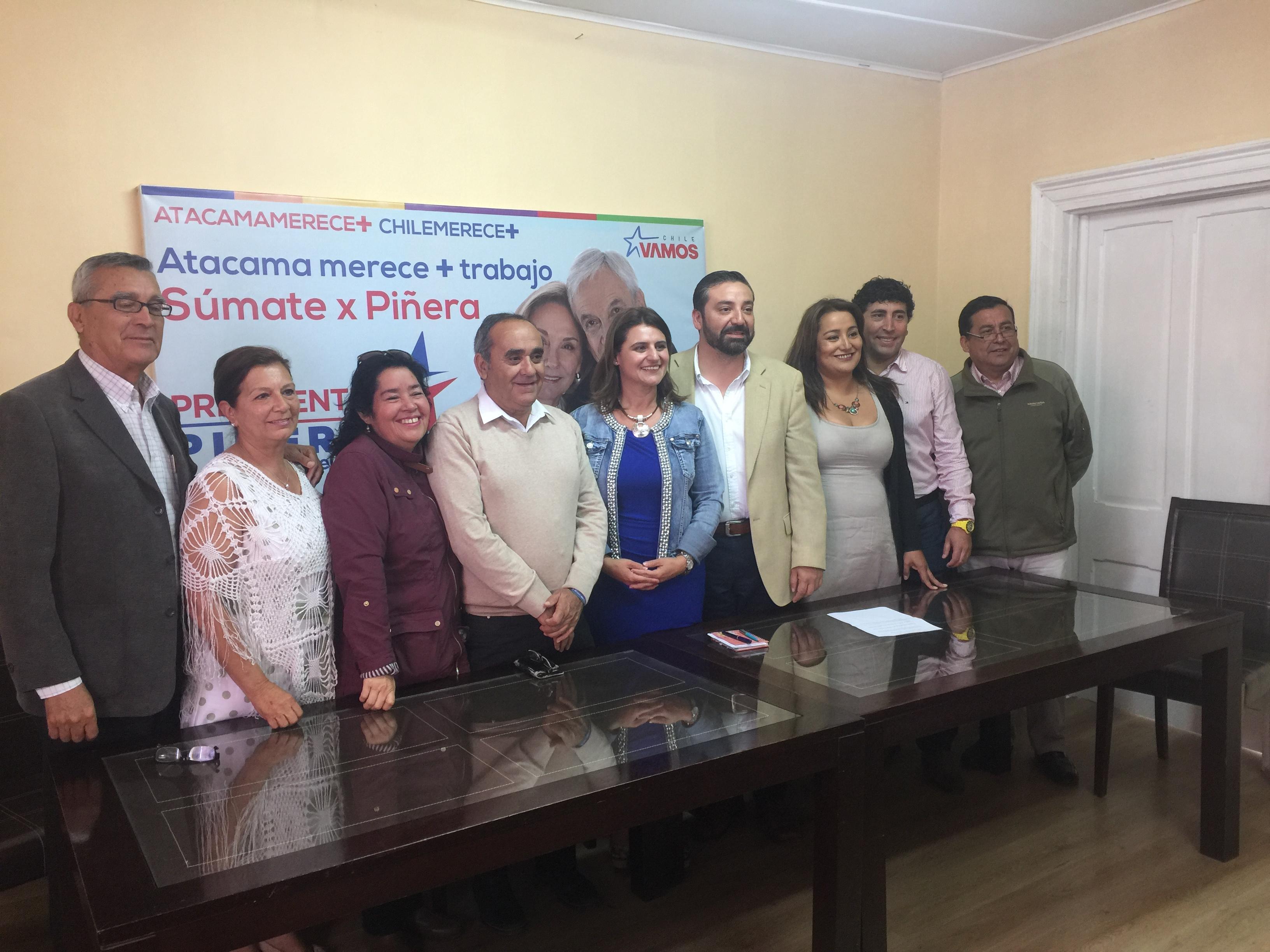 Chile Vamos Atacama se alinea y presenta estrategia de cara a la segunda vuelta Presidencial