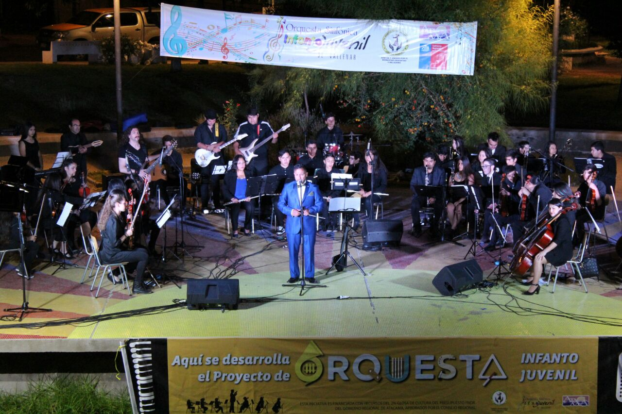 Solicitan aunar esfuerzos para continuidad de Orquesta sinfónica infanto juvenil de Vallenar