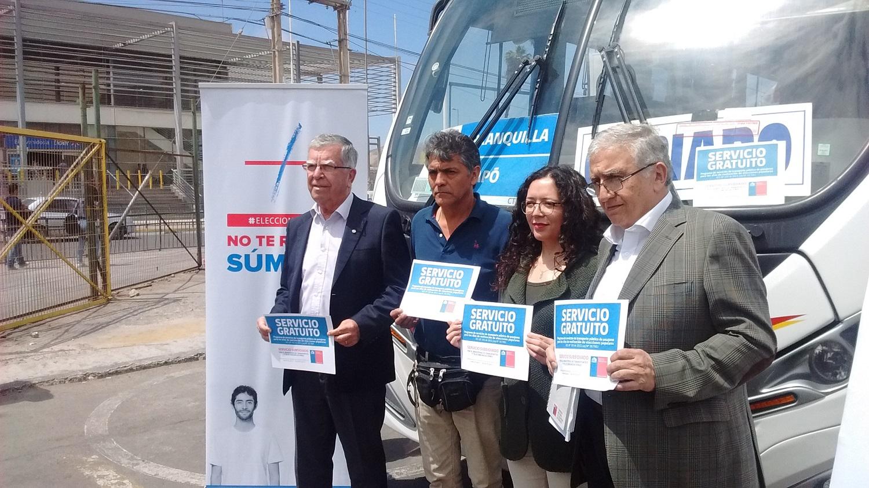 39 Servicios gratuitos de transporte para zonas aisladas  operarán en Atacama en segunda vuelta presidencial