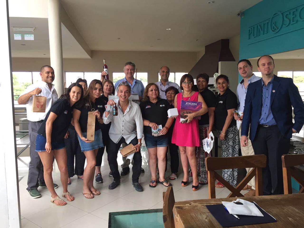 Con apoyo del Gobierno integrantes del barrio comercial Craig de Huasco realizaron pasantía en Argentina