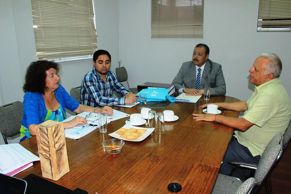 Director Ejecutivo del SLE Huasco se reúne con equipo JUNJI para dar a conocer el servicio y su proceso de instalación en la provincia