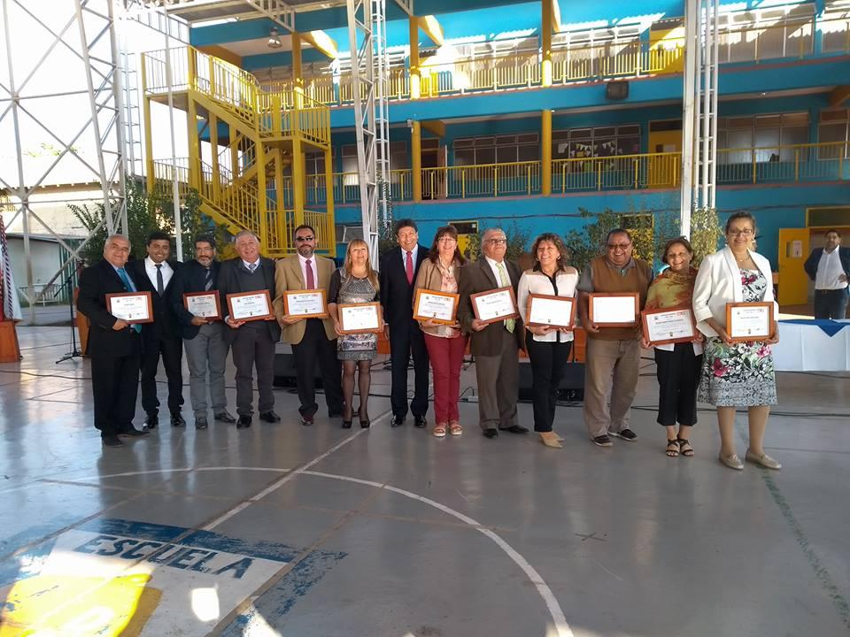 14 colegios de Vallenar reciben Excelencia Académica