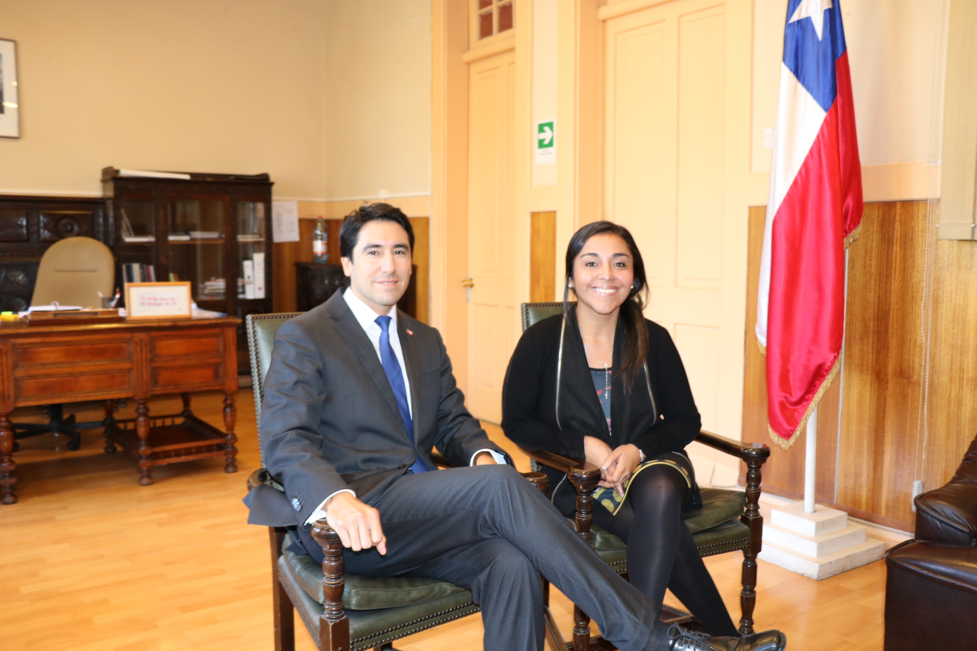 Seremi de Gobierno se reúne con gobernador de la provincia del Huasco