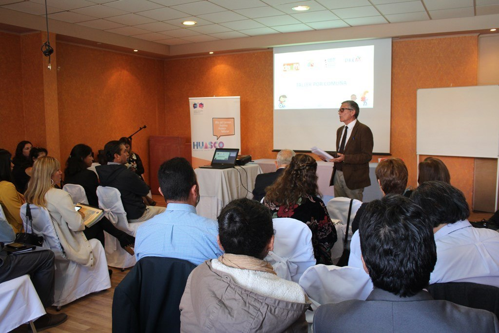 Realizan jornada de planificación educativa para directores de la provincia de Huasco