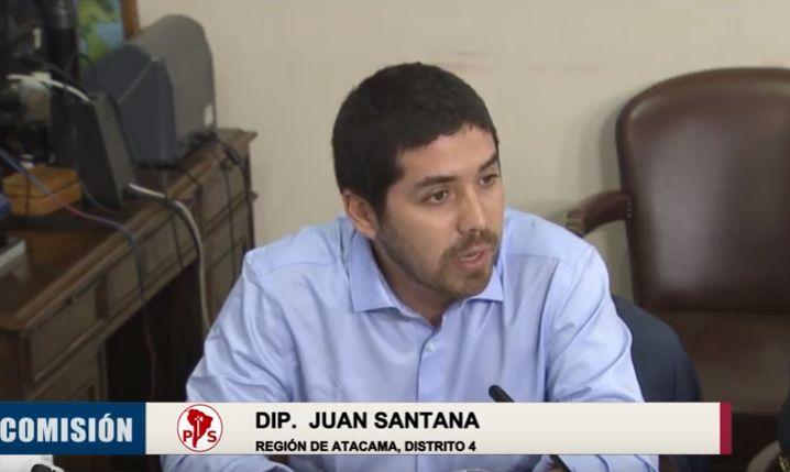 """Diputado Juan Santana: """"Hay 13 mil puestos de empleos que no se generan por la irresponsabilidad de empresarios especuladores"""""""