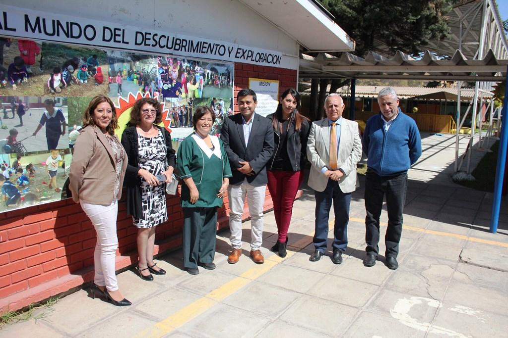 Visitan Jardines Infantiles para conocer su estado antes del traspaso a la Nueva Educación Pública en el Huasco